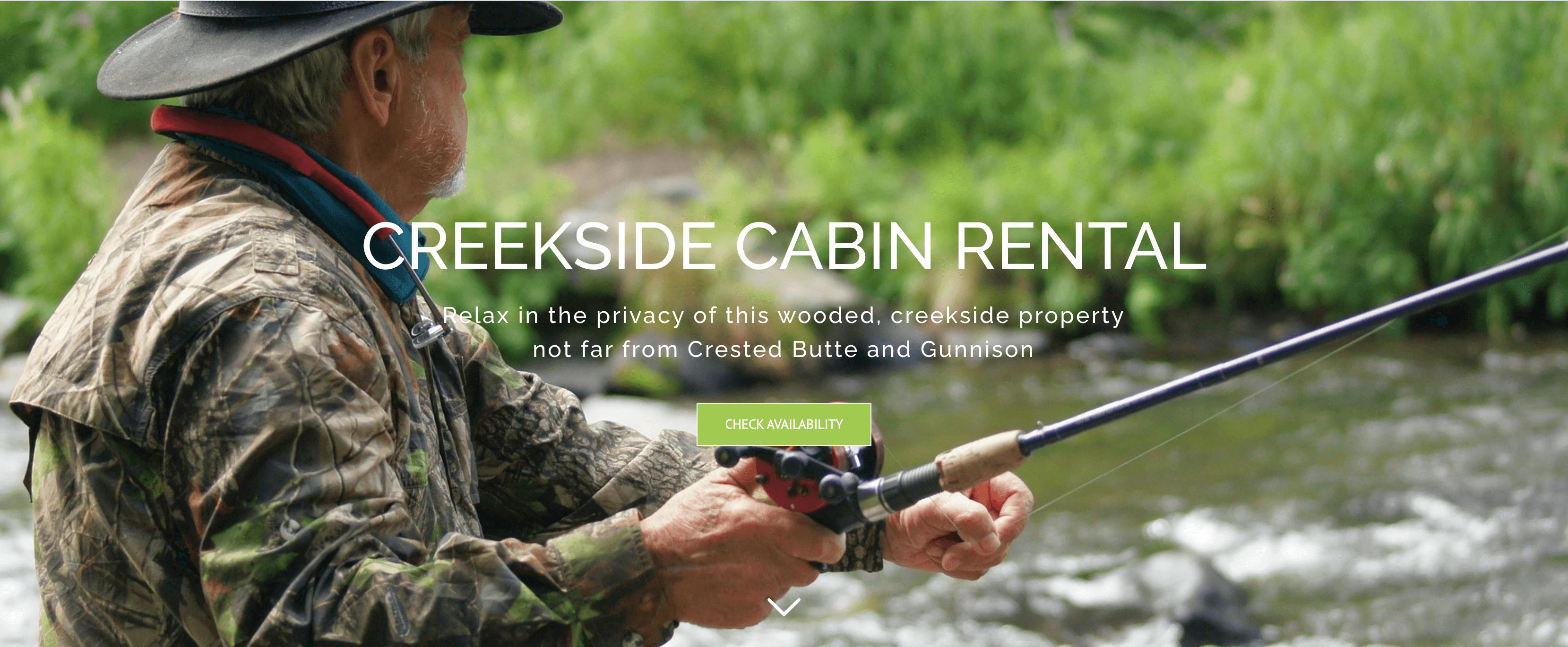 Creekside Cabin Rental