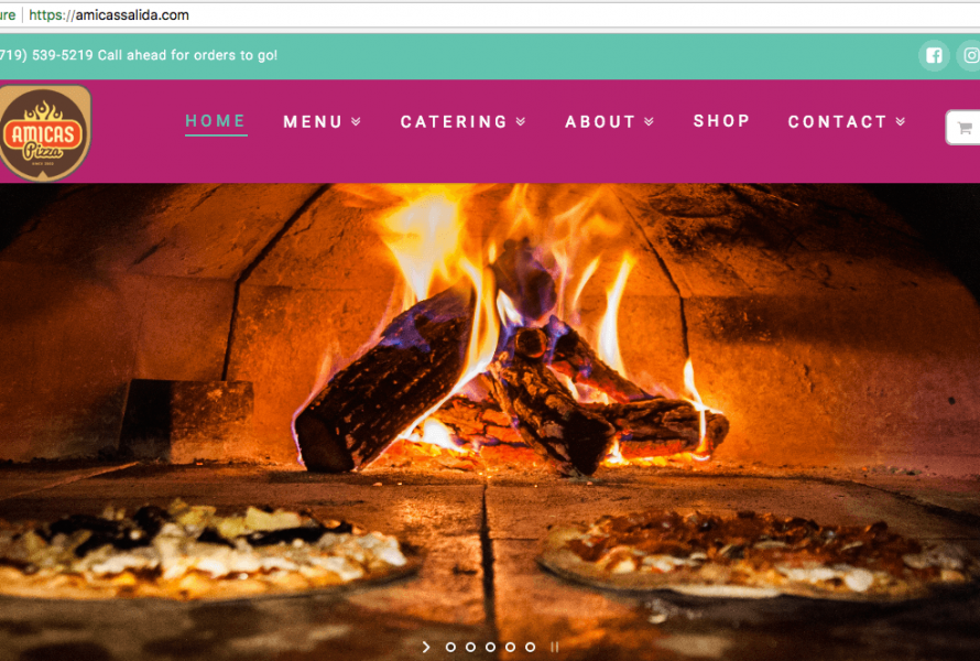 Amicas Pizza Salida, CO