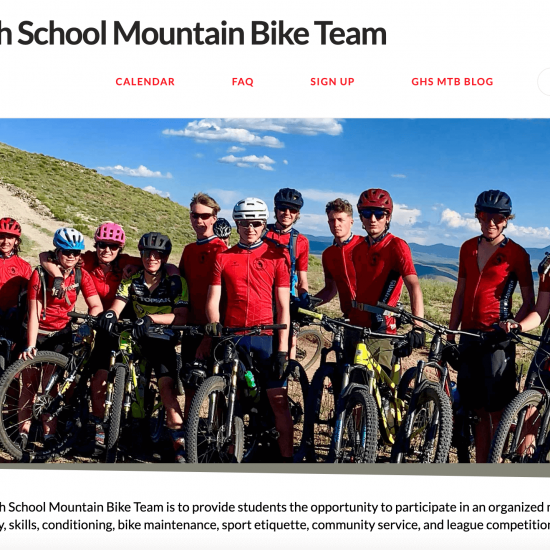 GHS Mountain Bike Team