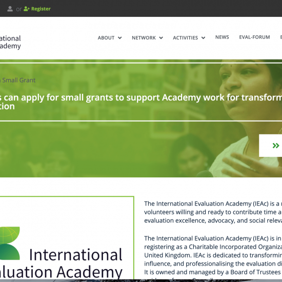 International Evaluation Academy